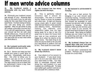 throw the ball already why men don t write advice columns