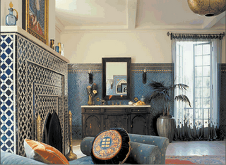 home interior design: moroccan interior design