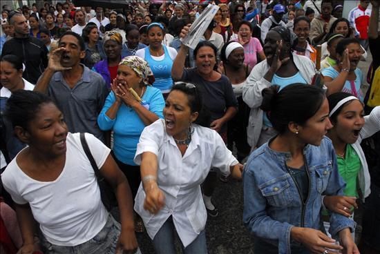 Represion en Cuba
