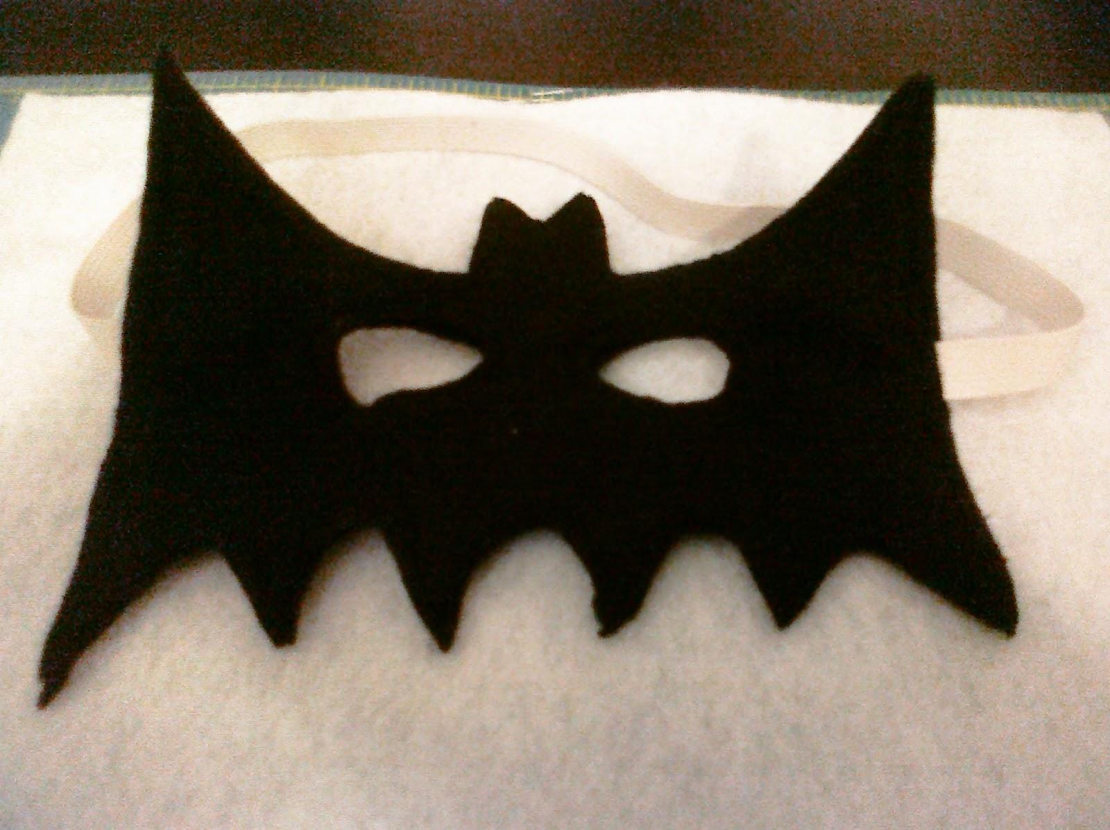 Felt Batman Mask Template Images & Pictures - Becuo