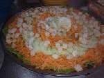 Salada de cenoura  com pepino