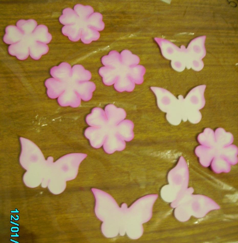 Trabajos de miriam mariposas tutorial - Como hacer mariposas de goma eva ...
