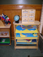 NAMC montessori prepared environment subject areas classroom design culture and geography
