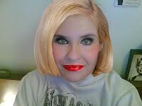 Me as Christina Agulera
