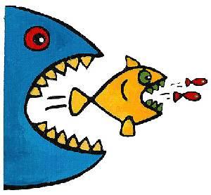 http://3.bp.blogspot.com/_1RjsCIc-tjY/SMY36QVV0NI/AAAAAAAAAJk/2p3_1leujAI/s400/fish-eat-fish-richard-cook-artville-com.jpg