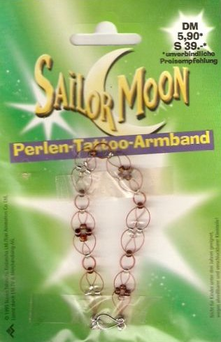 so here we have an official sailor moon tattoo armband