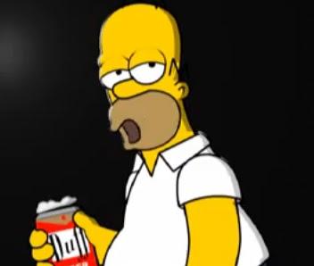 Cosas varias imitacion de homero simpson - Homer simpson tout nu ...