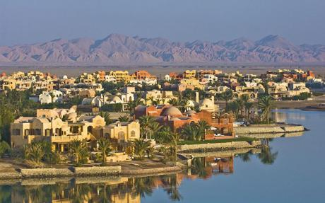 By Saundra Satterlee Ancient Sands, a retirement village in El Gouna, ...