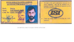 ID Cards of Attackers on  JSQM Chairmen  Bashir Qureshi and JSQM Rally