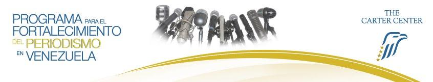 Programa para el Fortalecimiento del Periodismo en Venezuela
