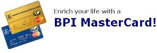 Credit Card Online: BPI Mastercard