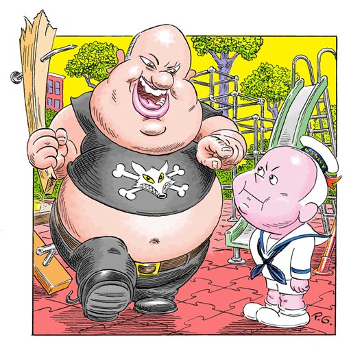 Jolly Roger Ailes and Little  John McCain