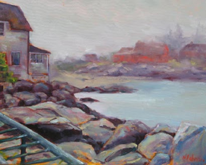 Foggy Morning on Monhegan