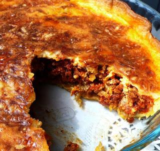 La morena en la cocina que foll n quiche de berenjenas y carne picada - Que cocinar con carne picada ...
