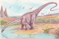Apatosaurus, by ДиБгд at Wikimedia Commons - public domain