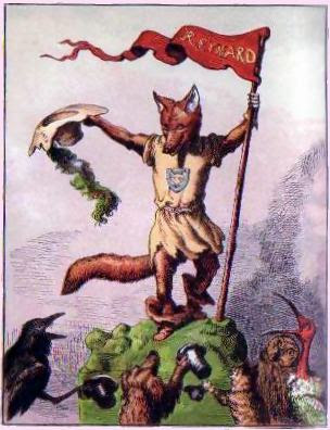 We are so foxed. - Reynard, by Ernst Griset, pub. 1869 - public domain, via Wikimedia Commons