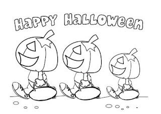 trick or treat kids coloring printables