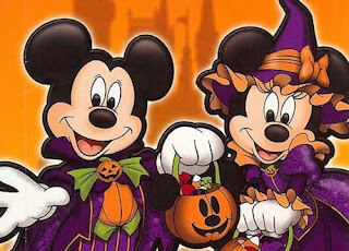 mickey mouse minnie mouse halloween