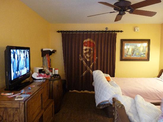 Habitaciones especiales de piratas en el caribbean beach for Habitaciones especiales