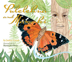 """PULELEHUA and MAMAKI"" by Janice Crowl, illustrated by Harinani Orme, Bishop Museum Press"