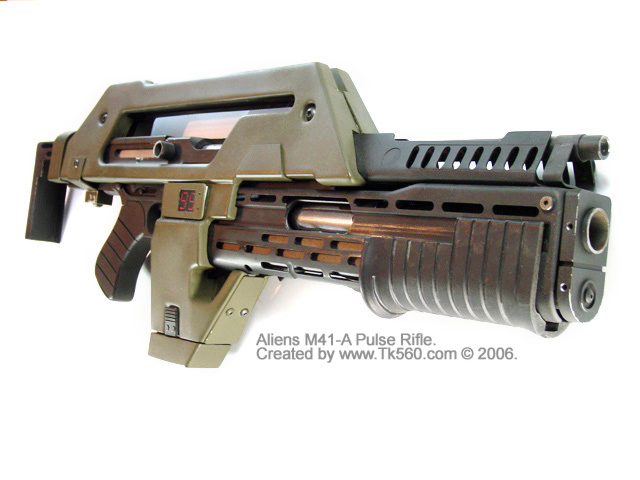 This the 10mm m-41a pulse rifle, one of the best, most realistic sci