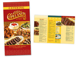 Food brochures party catering menu brochure for Catering brochure templates