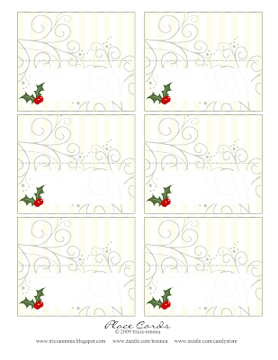 Christmas Card Ideas on Tricia Rennea  Illustrator  Christmas Place Cards And Ideas