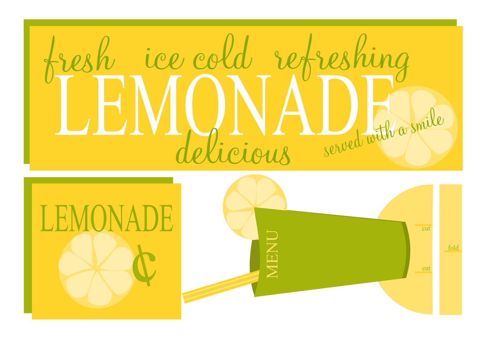 Sweet Lemonade Set