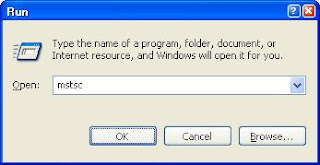 The Run Command For Windows Remote Desktop Application Is Mstsc.