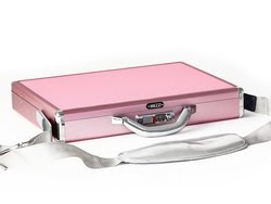 New Aluminum Laptop Case Pink LUXslim from MEZZI