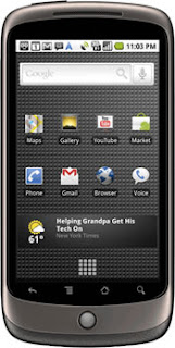 Nexus One Google New Mobile Phone GadgetsArea blogspot