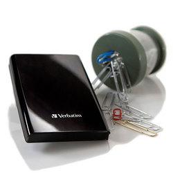 USB 3.0 Portable Hard Drive - Verbatim Store 'n' Go