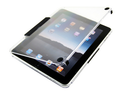 Transparent Crystal iPad Folio