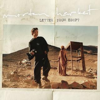 Capa do disco Letter from Egypt, novo álbum de Morten que será lançado em 19 de maio