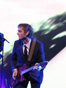 Paul durante show em São Paulo. Foto - Portal MTV