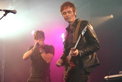 Morten e Paul durante o Arqiva Awards 2009
