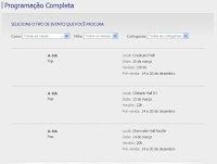 Reprodução do site mostra equívoco da Credicard