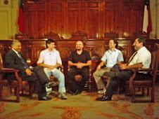 Nuevamente Debates UB En Canal del Senado Con el Senador  Sr. Naranjo.