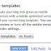 Now create Mobile version of  Blogger Blogspot Blog