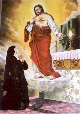 El santo de hoy...Margarita María de Alacoque, Santa, Eduvig Maria_Margarita