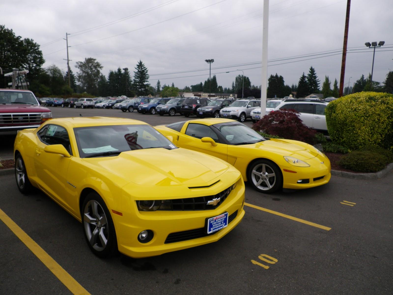 Roy Robinson Chevrolet >> 2010 Yellow Camaro   Auto Parts Diagrams
