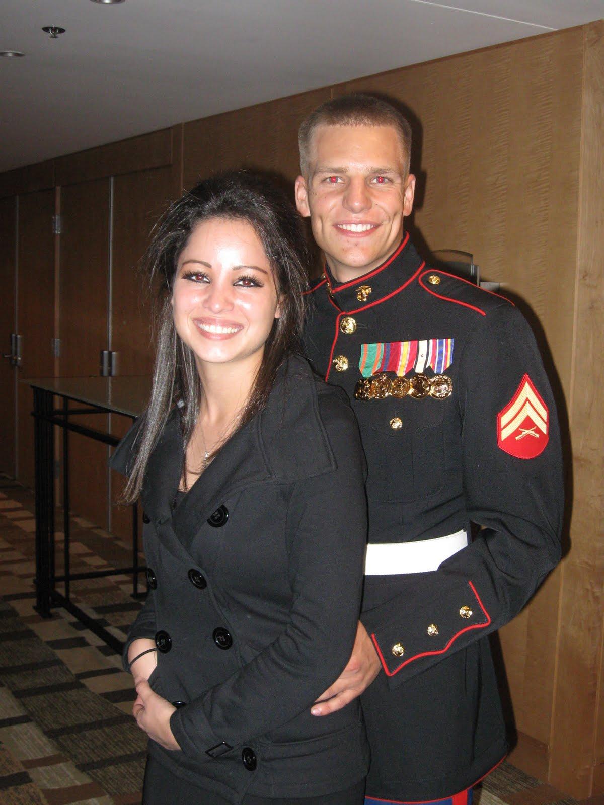 R Lee Ermey Wife Nila Brock and Heather: I W...