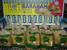 Roti Barakah - keluaran Koperasi Barakah Pondok Al-Jenderami