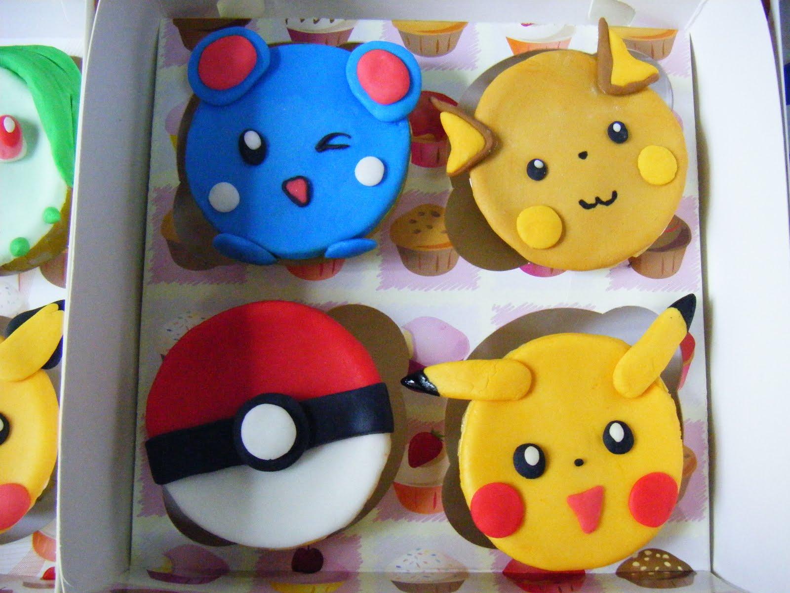 Ecupcakes Pokemon CupCakes