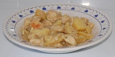 Pechuga de pollo con salsa