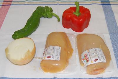 Hay que añadir pollo y verduras