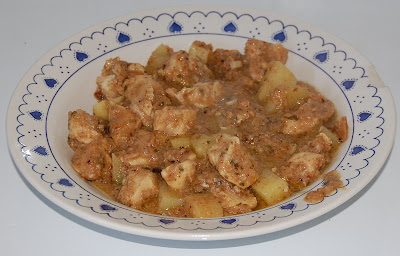 Pechuga de pollo con almendras