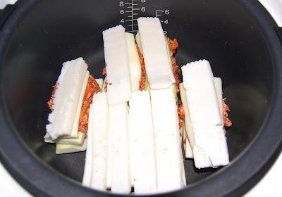 Encima se pone el queso