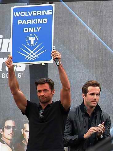 ryan reynolds x men wolverine. Ryan Reynolds at the X-Men