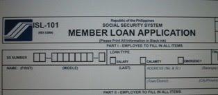 SSS Loan From ISL-101